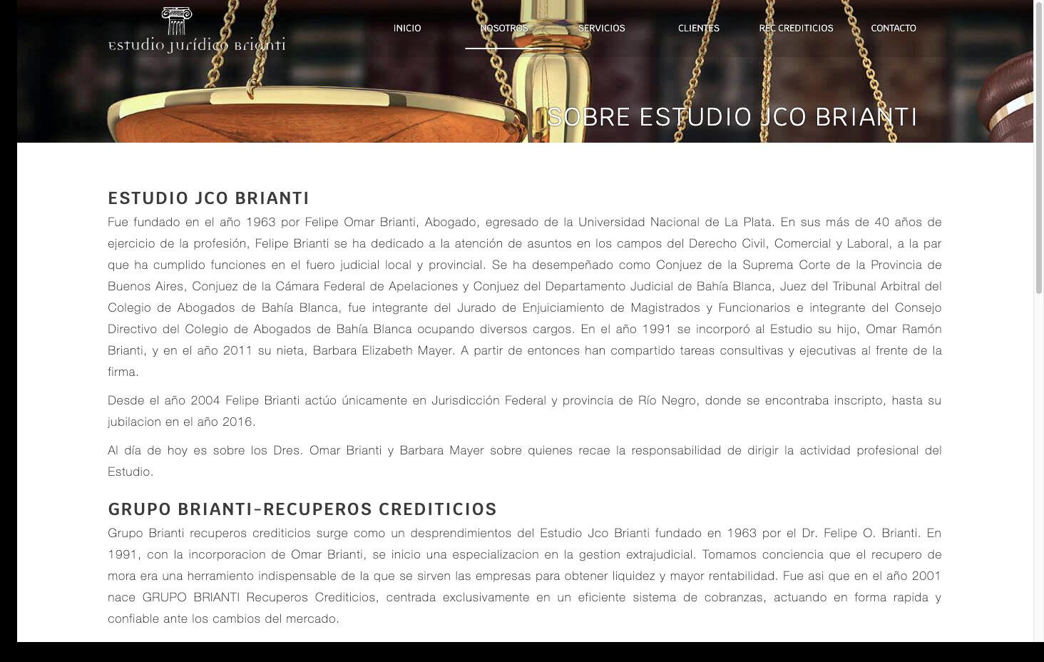 Estudio Juridico Brianti