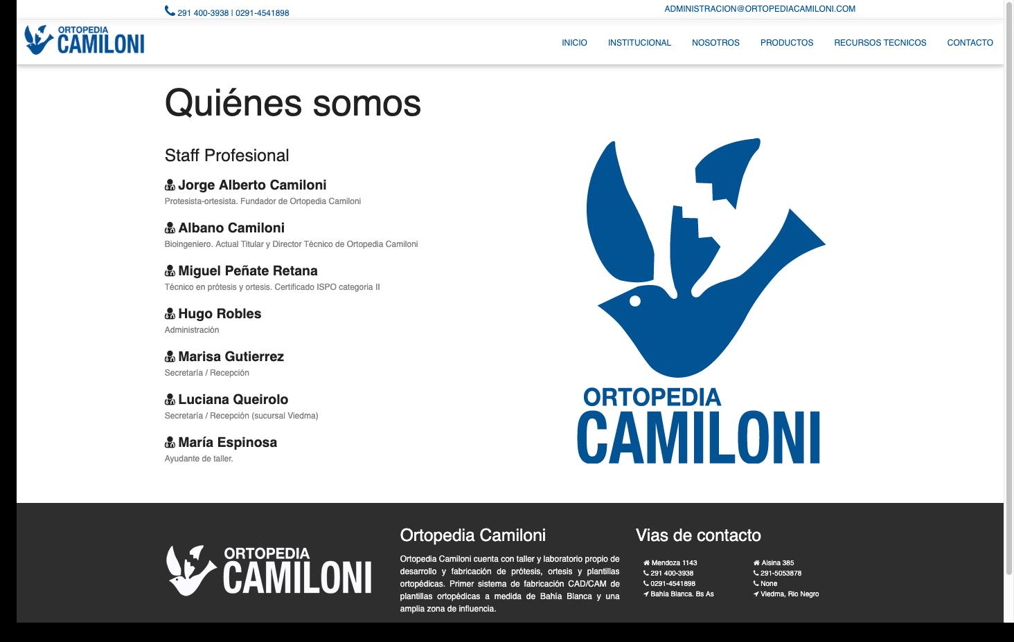 Ortopedia Camiloni