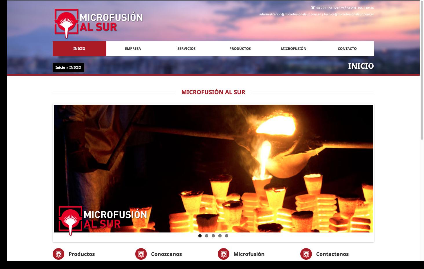 Microfusion al Sur